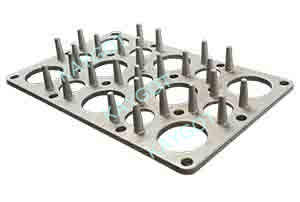 Heat treatment Fixture Series (Cast Tray)