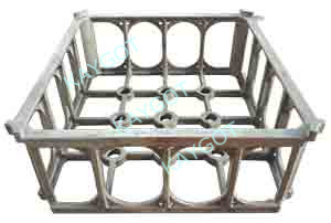 Heat treatment Fixture Series (Cast Basket)